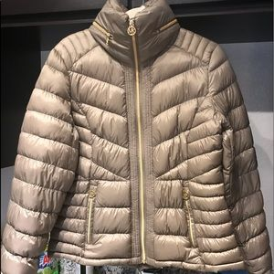 Michael Kors Packable Down Filled Jacket